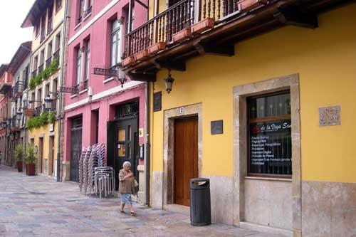 Aviles centro historico calle Galiana blog