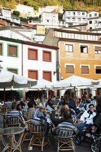 Cudillero (Asturias) terrazas