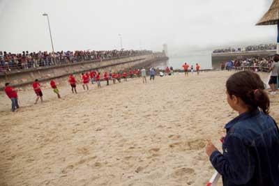 Foz Lugo cuerda playa blog