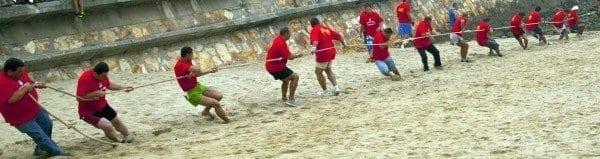 Foz Lugo cuerda playa blogjpg