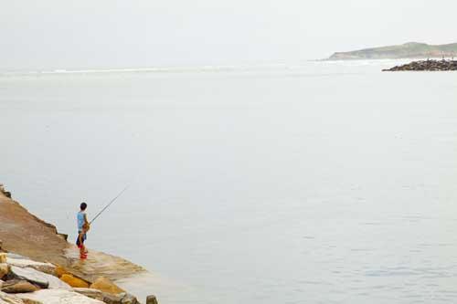 Foz Lugo pesca niños blog