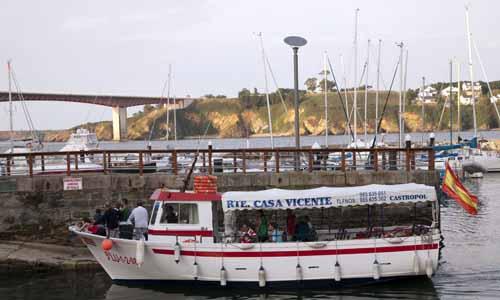 Ribadeo Lugo barco la viajera empedernida blog
