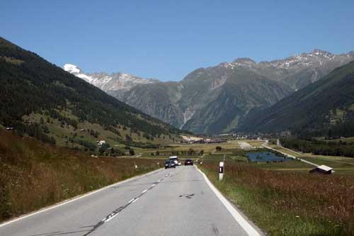 Suiza carretera pueblos blog