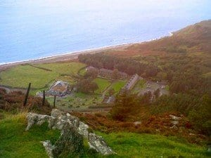 Panoramica de Nant Gwrtheyrn