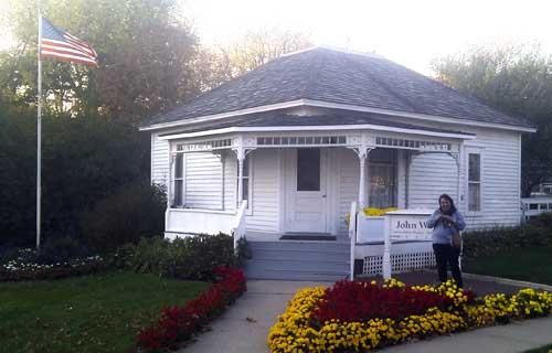 John wayne casa blog Iowa