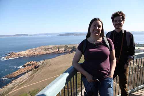 Megan y Tag torre alto coruña blog