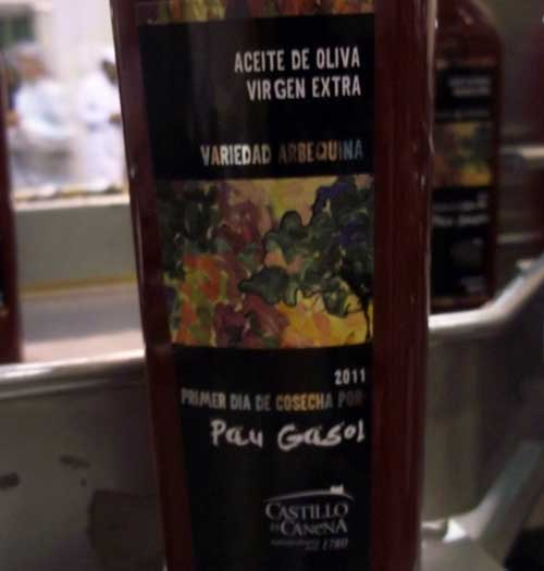 Jaén botella Gasol