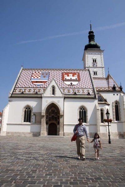 Zagreb, iglesia de San Marcos