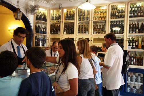 Pastelería de Belem en Lisboa