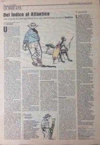 Mi primer reportaje de viajes publicado en El País