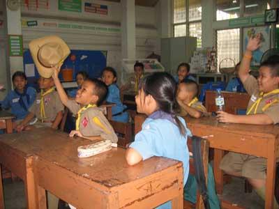 Colegio en Bangkok