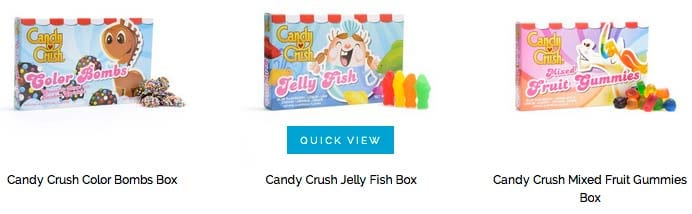 Caramelos Candy Crush