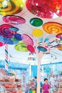 Interior Dylan's Candy Bar