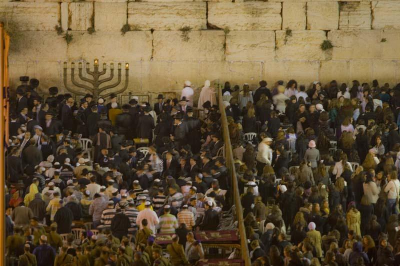 jerusalen muro sabbath baja