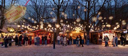 Bassel Christmas market