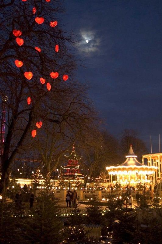 Navidad en el Tívoli, en Copenhague