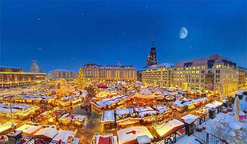 Dresden mercadillo Dresden Striezelmarkt