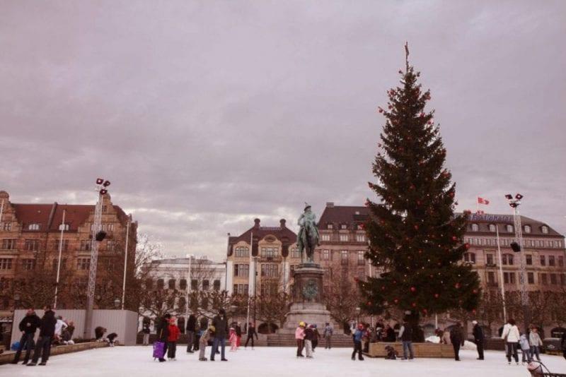 Navidad en Mälmo, Suecia