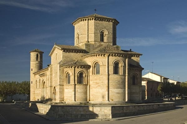 SanIglesia románica de San Martin de Fromista, en Palencia
