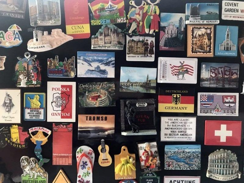 Imanes de viajes de mi colección