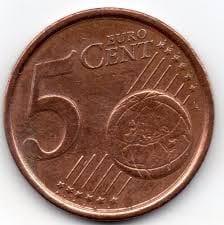 cinco centimos de euro