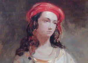 lady hester retrato