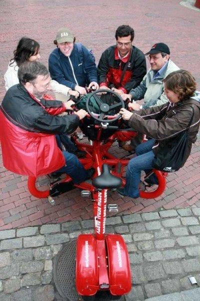 Boston pedal party