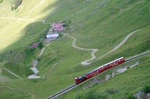 Panorámica del Brienz-Rothorn, en Suiza
