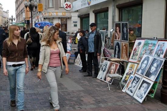 En Rusia aumenta dia a dia el poder adquisitivo de la clase media