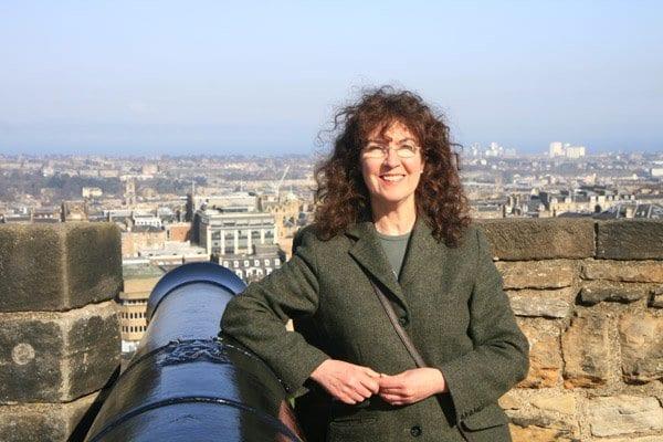 Diana Perna me acompañó en un viaje por Escocia