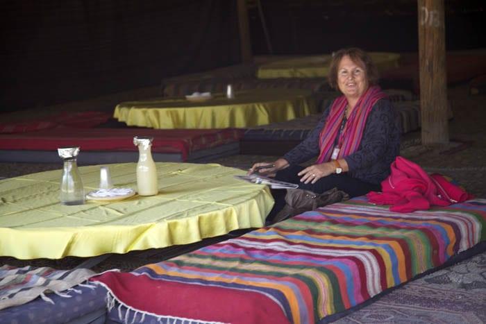 Nurit fue la mejor compañera de viaje en Israel