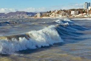Sochi está a orillas del Mar Negro