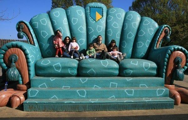 Sofá gigante Efteling