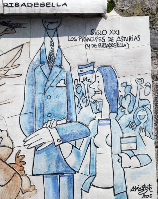 Homenaje de Mingote a los Reyes don Felipe y doña Letizia