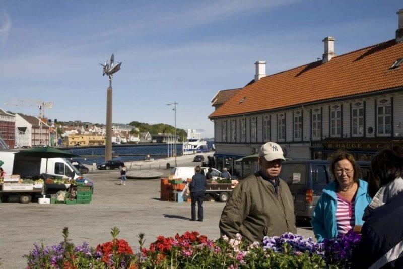 Mercado de las flores de Stavanger
