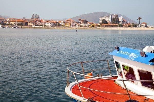 Ribadesella barco pesca