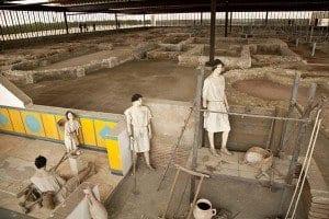 Excavación Museo Villas Romanas