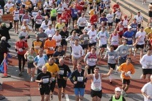 Detalle maratón de Nueva York