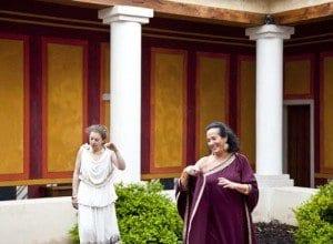 Visitas teatralizadas en el Museo de las Viillas Romanas