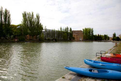 Dársena de Medina de Rioseco (Canal de Castilla)