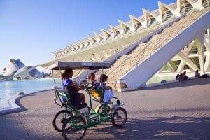 En bicicleta para cuatro
