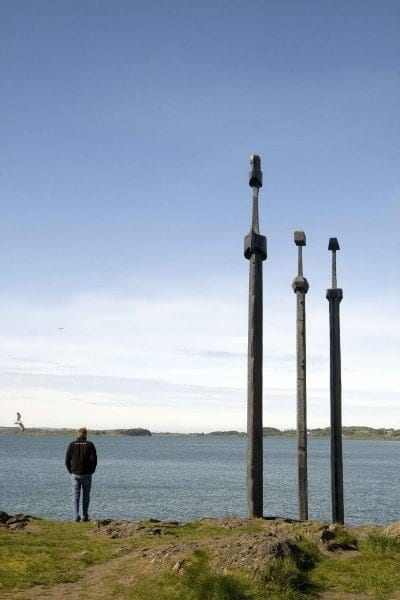 Stavanger esculturas dioses