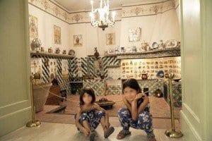 Cocina en el museo de cerámica de Valencia