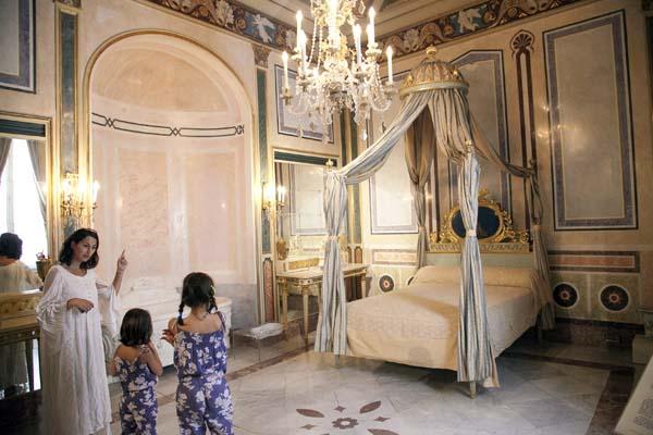 Palacio del Marqués dos Aguas habitacion