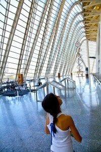 Interior museo principe felipe