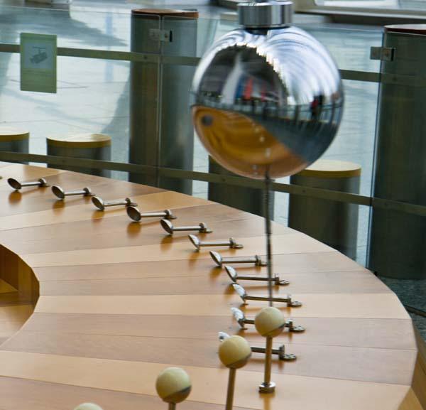 Péndulo en el Museo de las Ciencias