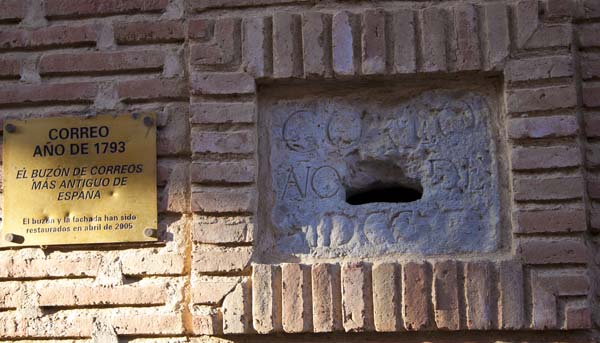 El buzón más antiguo de España