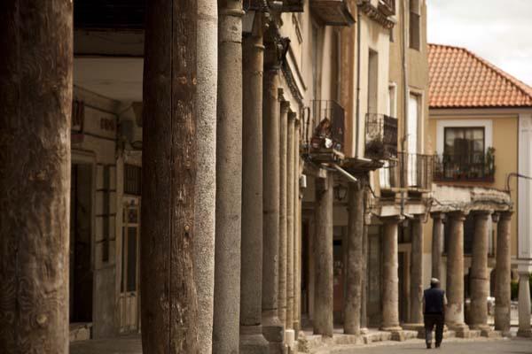 Calle Mayor de Medina Rioseco