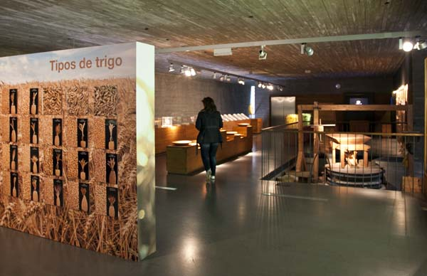 Museo del pan, en Mayorga