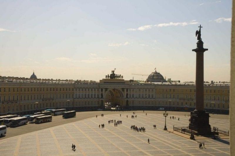 Plaza del Palacio de Invierno